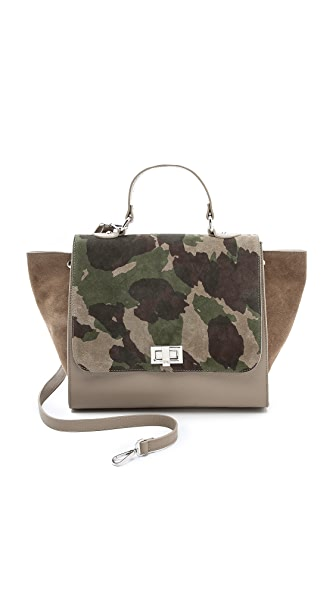 ONE by Michaella Barri Collection Camo Classic Satchel
