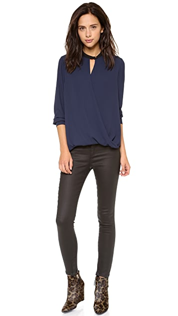 ONE by And B Long Sleeve Blouse