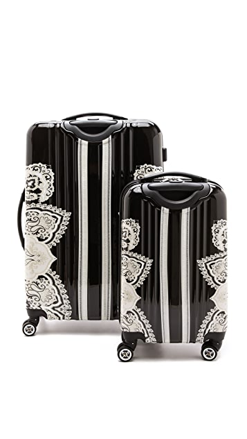 ONE by Hale Bob Luggage Suitcase and Carry-On Set
