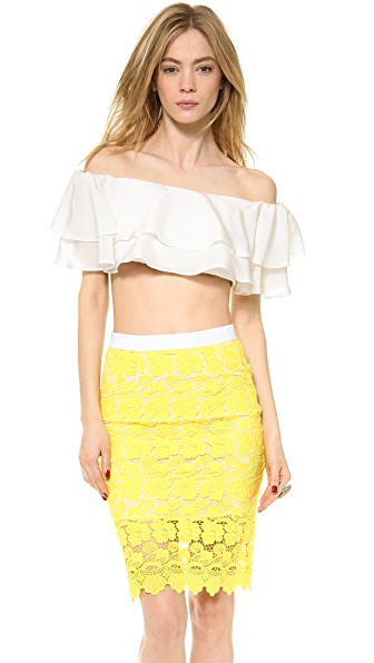 ONE by Viva Aviva Rongo Ruffle Top