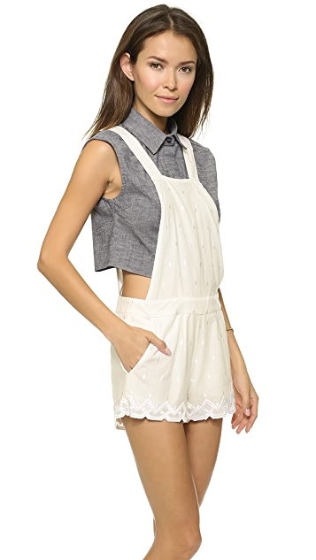 ONE by Harlyn Short Overalls