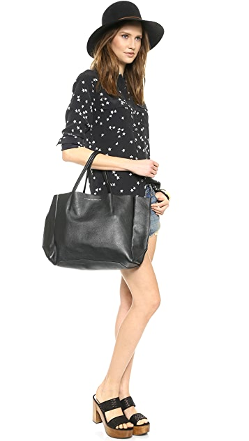 ONE by Ampersand as Apostrophe Large East / West Tote