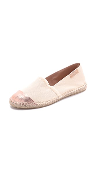 ONE by mint & rose Amalfi Cap Toe Espadrilles