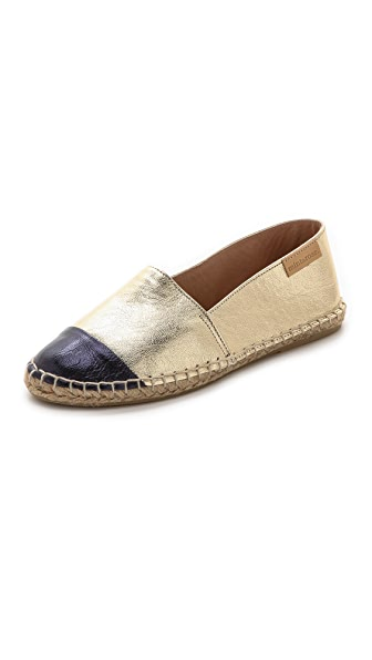 ONE by mint & rose Skorpios Metallic Espadrilles