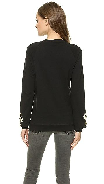 ONE by Chamak Embellished Sweatshirt