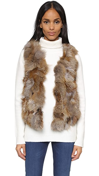ONE by Love Token Luna Fur Vest