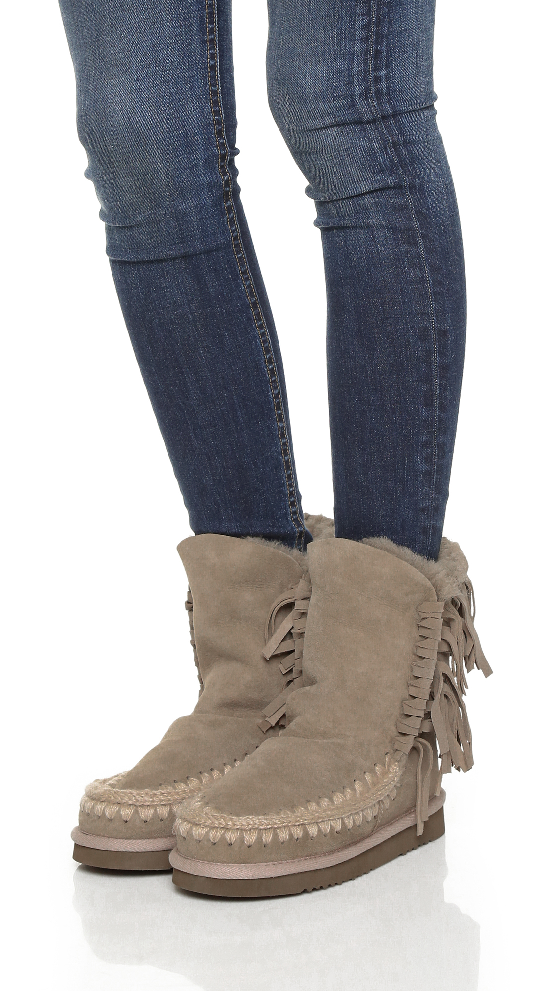 Mou fringed boots best prices online t46nr