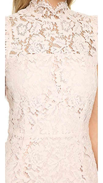 ONE BY One By Into The Night Dress in Blush