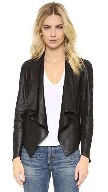 ONE by LAMARQUE Madison Leather Jacket