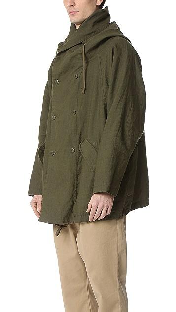 Ones Stroke Ripstop Long Linen Coat