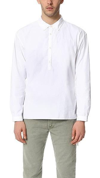 Ones Stroke Typewriter Lace Up Shirt
