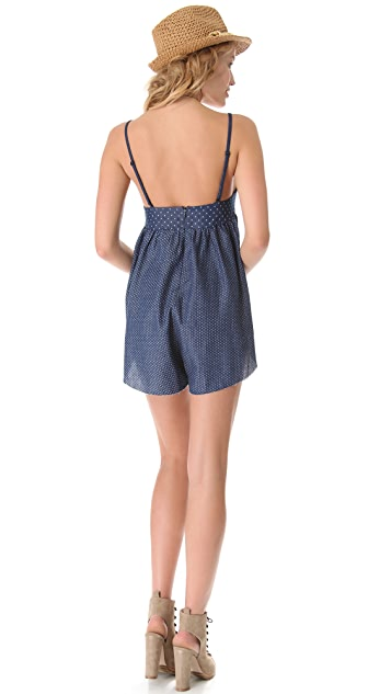 One Teaspoon Homesick Blues Loco Romper
