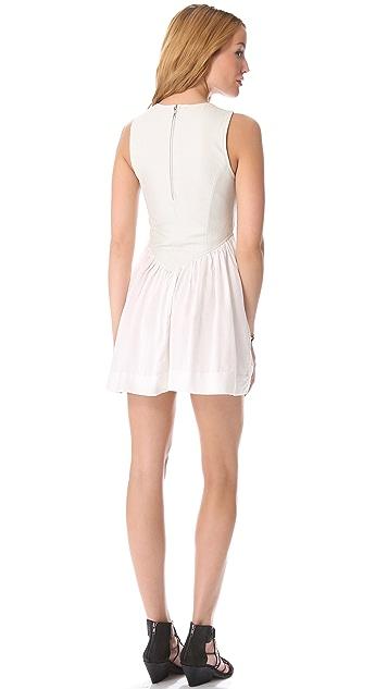 One Teaspoon Mercury Leather Mini Dress