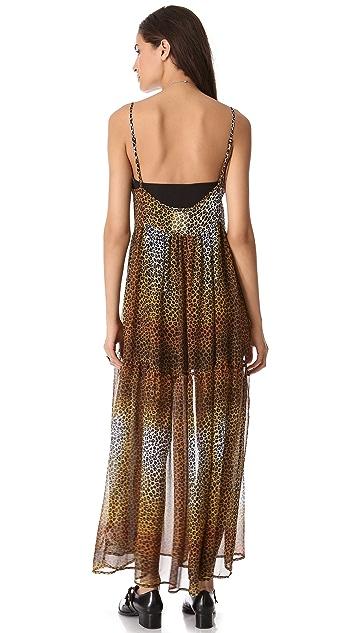 One Teaspoon Cheetah Minky Dress