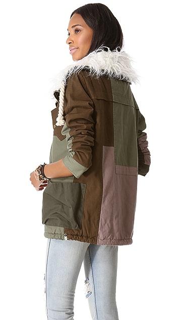 One Teaspoon Patchwork Defender Jacket