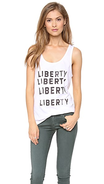 One Teaspoon Liberty Liberty Vintage Tank