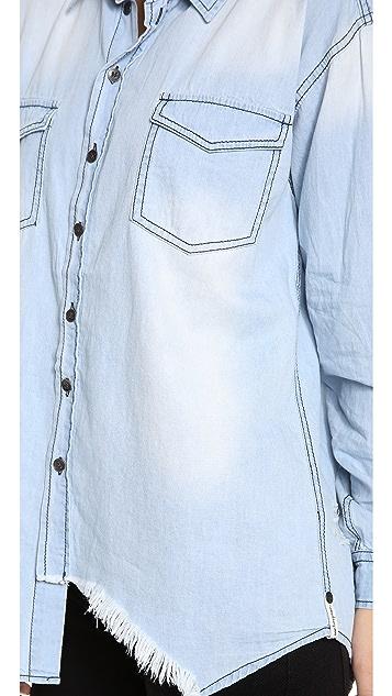 One Teaspoon Denim Shirt