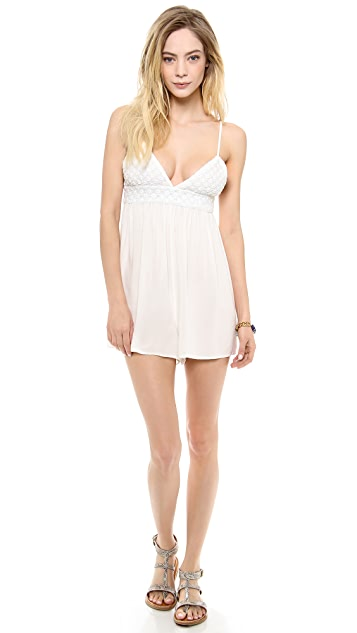 One Teaspoon Lace Lover Romper