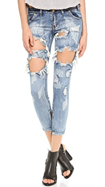 One Teaspoon Cobain Awesome Jeans