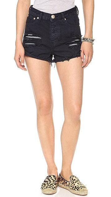 One Teaspoon London Hawk Shorts