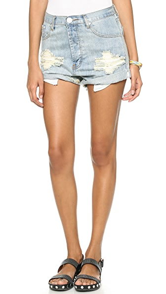 One Teaspoon Dirt Outlaw Shorts