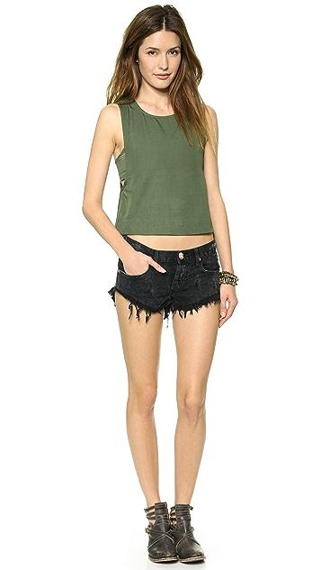 One Teaspoon Le Hawk Bonita Shorts