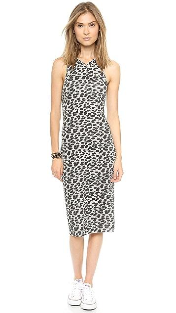 One Teaspoon Snow Leopard Knit Dress
