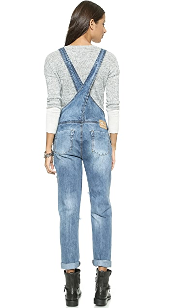 One Teaspoon Ford Awesome Overalls