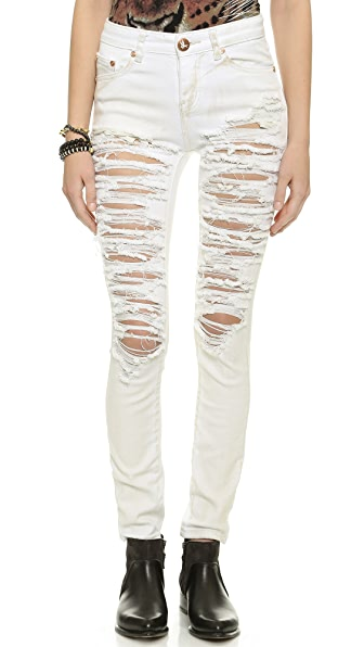 One Teaspoon Dirty White Yardbirds Jeans | SHOPBOP