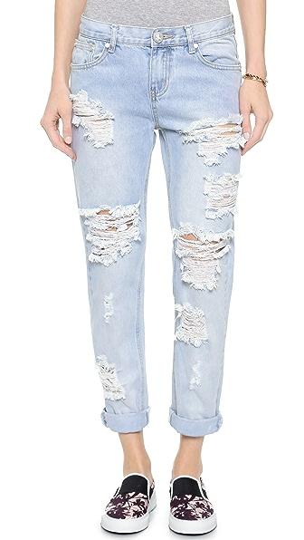 Свободные джинсы с доставкой