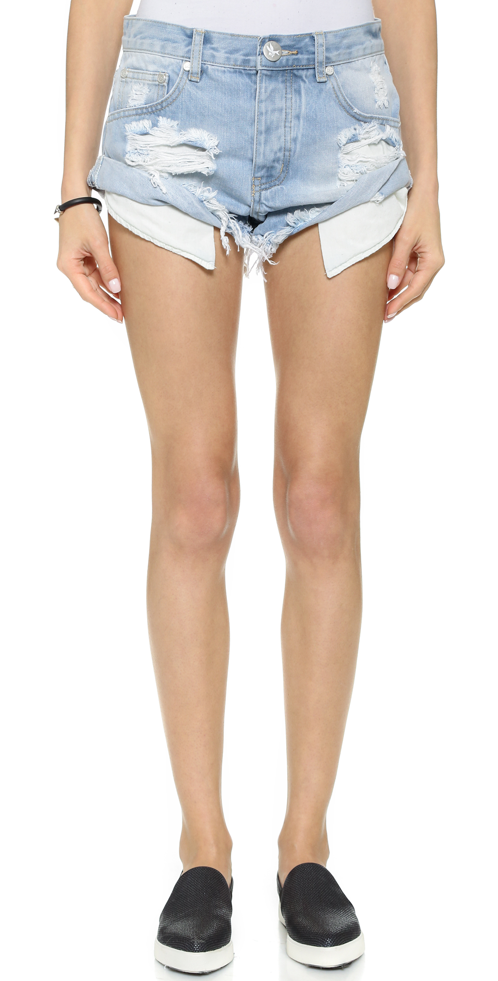 Wilde Bandits Shorts One Teaspoon
