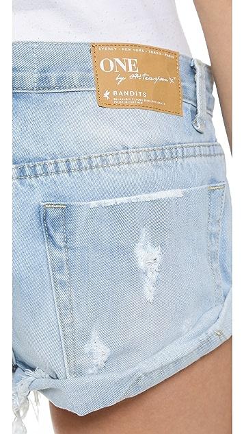 One Teaspoon Wilde Bandits Shorts