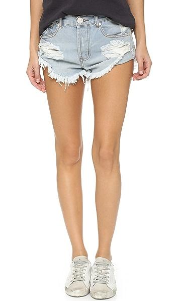 One Teaspoon The Beauty Bandits Shorts