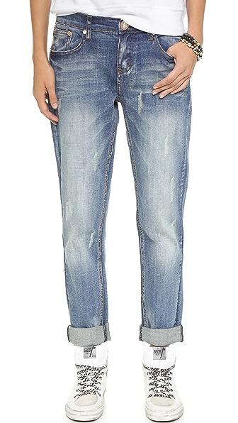 One Teaspoon Pure Bleu Awesome Baggies Jeans