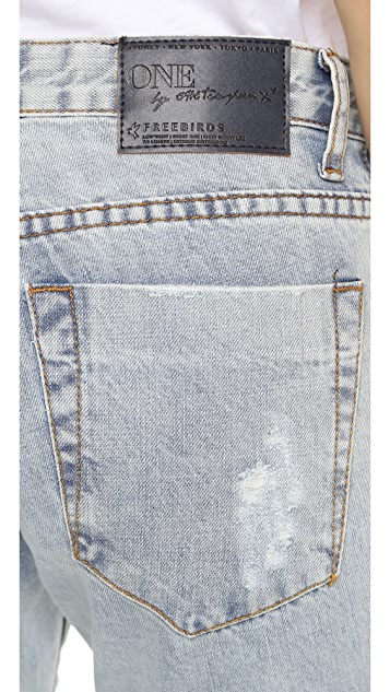 One Teaspoon Le Homme Freebird Jeans