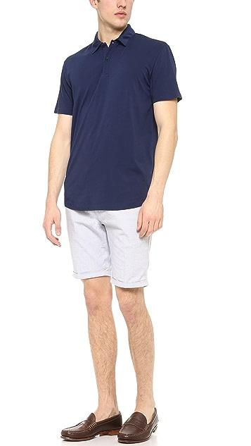 Onia Matt Short Sleeve Polo