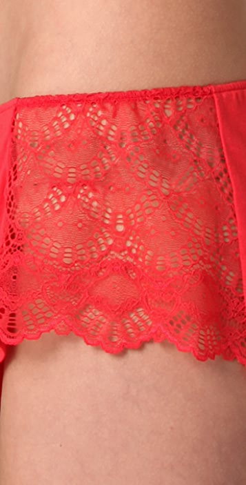Only Hearts Venice Lace Inset Hipster