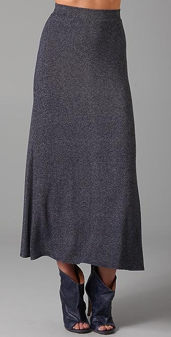 Only Hearts Denim Jersey Long Skirt