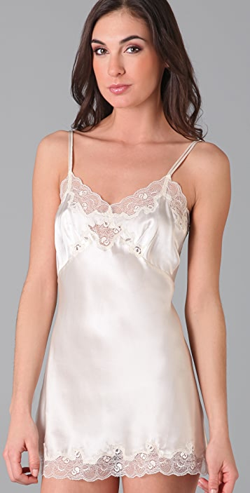 Only Hearts Silk Charmeuse Mini Slip