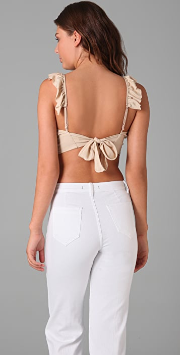 Only Hearts Cropped Tie Back Camisole