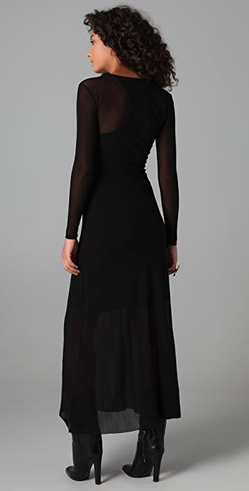 Only Hearts Long Sleeve Dress with Slip
