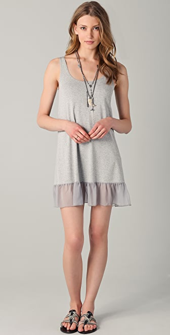 Only Hearts So Fine Chiffon Hem Dress