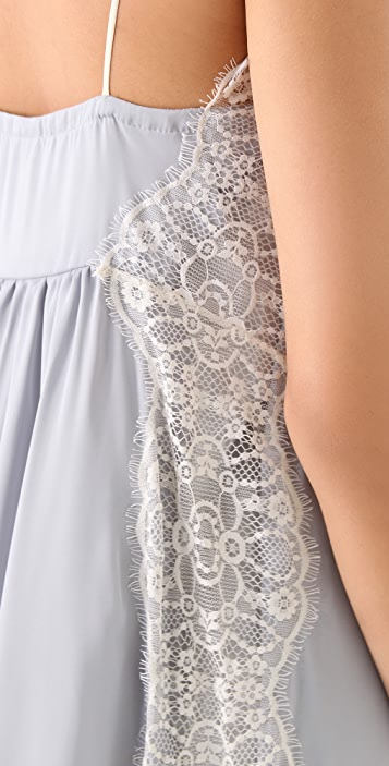 Only Hearts Lace Inset Slip Dress