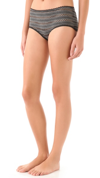 Only Hearts Eyelet Jersey Brief