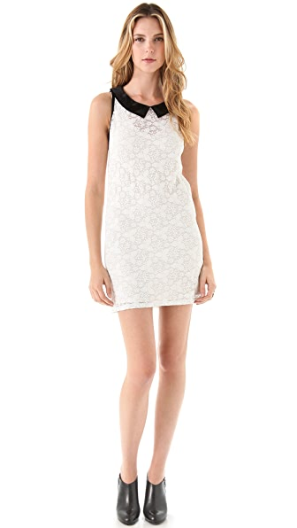 Only Hearts Sara's Lace Dress with Velvet Collar