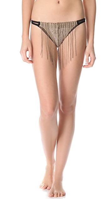 Only Hearts Lady Day Fringe Thong