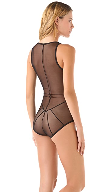 Only Hearts Whisper Cage Back Bodysuit