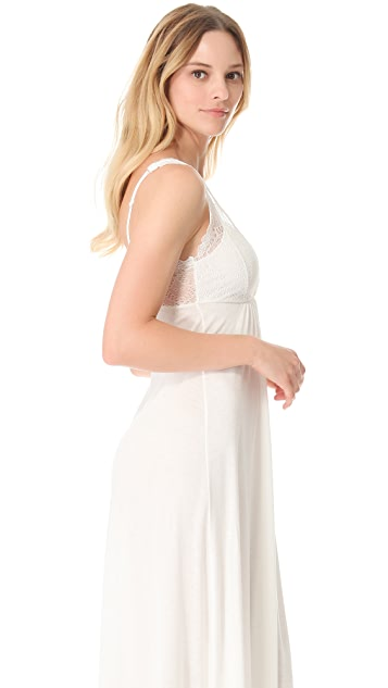 Only Hearts Venice Tank Gown with Lace Cups