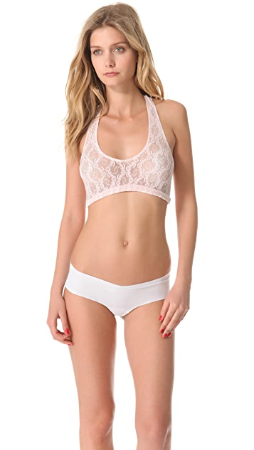Only Hearts Stretch Lace Racer Back Bralette