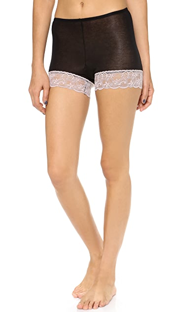 Only Hearts Featherweight Essentials Lace Trim Briefs